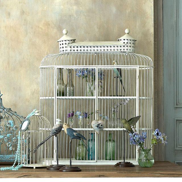 Dekoračné vtáčie klietky-4