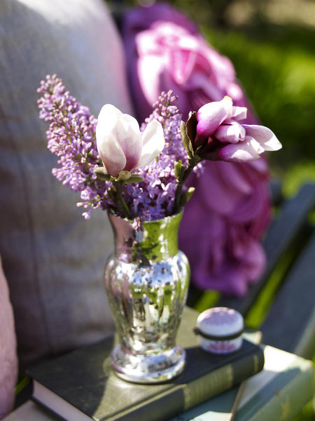 Voňavé kvetinové aranžmány z orgovánu 10