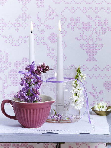 Voňavé kvetinové aranžmány z orgovánu 4