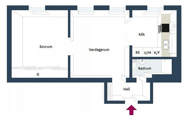 Čistý, svieži a útulný vidiecky interiér - 21