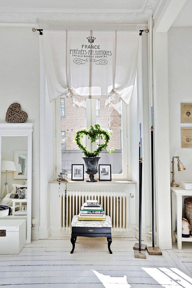 Čistý, svieži a útulný vidiecky interiér - 4
