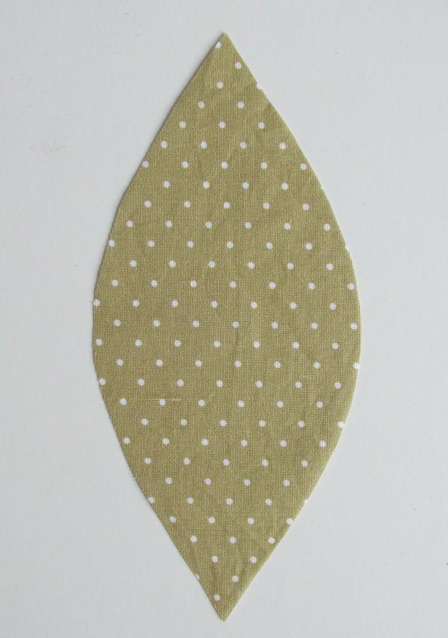 DIY Textilná tekvička 1
