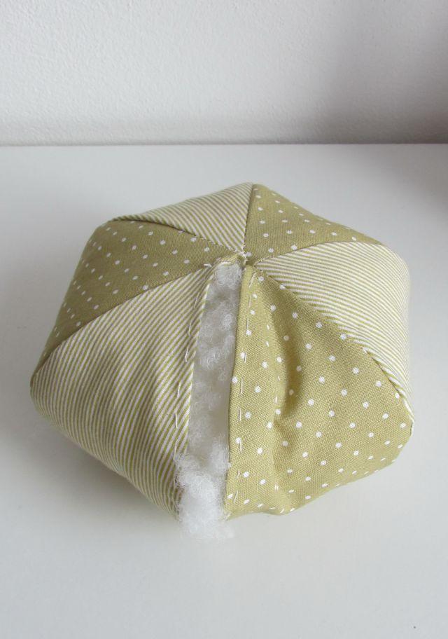 DIY textilná tekvička 2