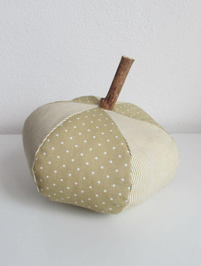 DIY textilná tekvička 4