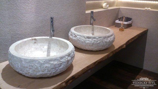 Kamenné umývadlá sú šperkom každej kúpeľne 1