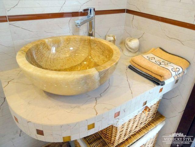 Kamenné umývadlá sú šperkom každej kúpeľne 4