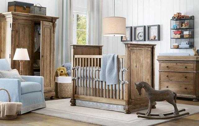 Zariaďujeme izbu pre bábätko vo vidieckom štýle 10