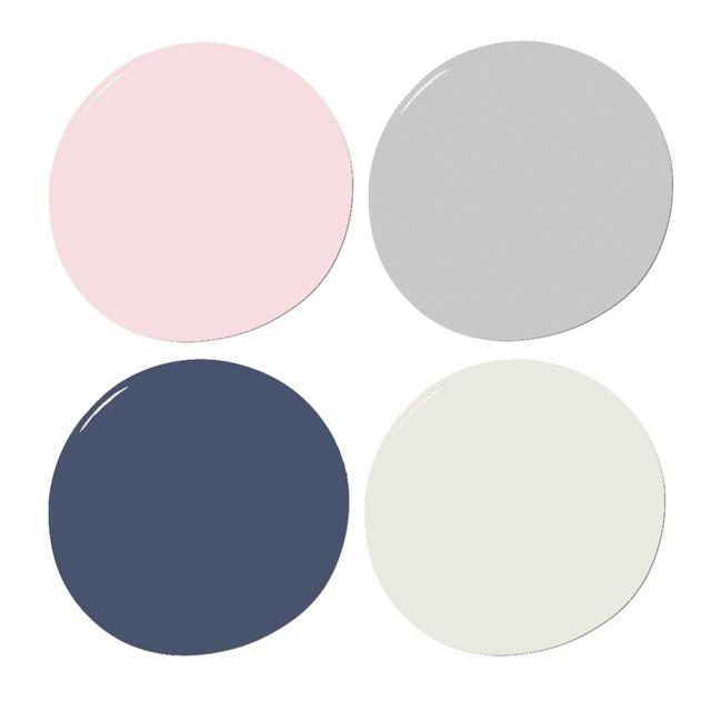Zariaďujeme izbu pre bábätko vo vidieckom štýle - farebná paleta