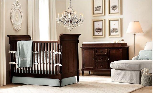 Zariaďujeme izbu pre bábätko vo vidieckom štýle 8