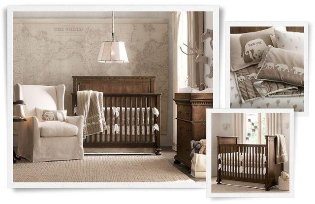 Zariaďujeme izbu pre bábätko vo vidieckom štýle 9