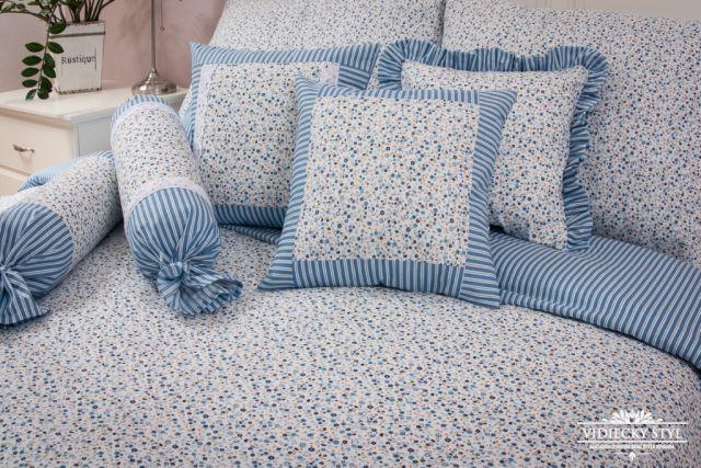 Posteľná bielizeň inšpirovaná belasým šatom nezábudiek 2