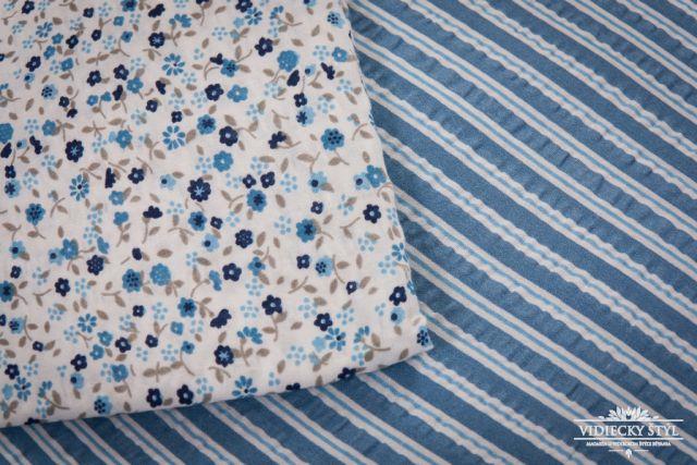 Posteľná bielizeň inšpirovaná belasým šatom nezábudiek 3