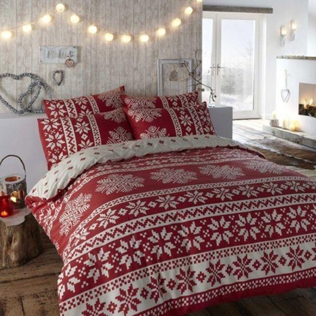7 tipov na vianočnú výzdobu do spálne 2