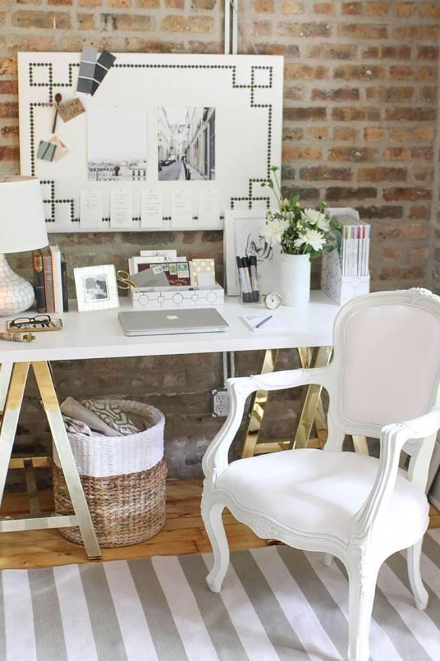 Vytvorte si doma príjemné a kreatívne miesto na prácu 6