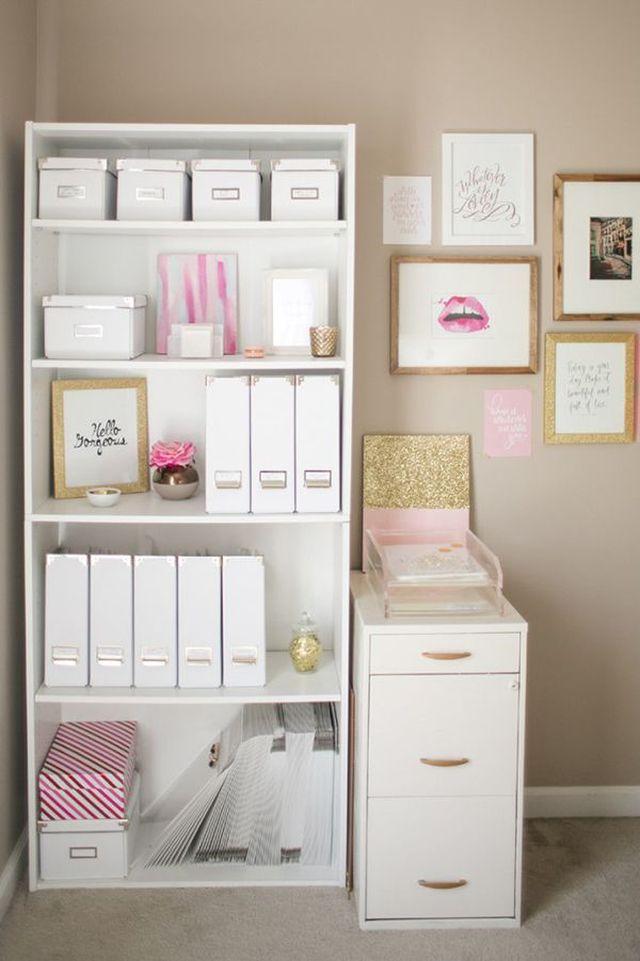 Vytvorte si doma príjemné a kreatívne miesto na prácu 7