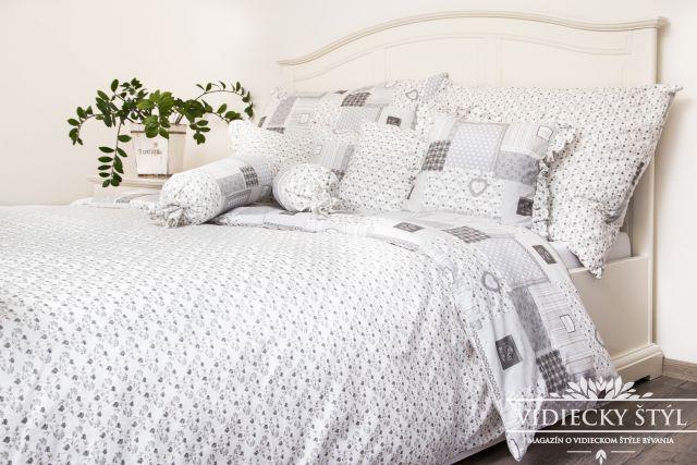Posteľná bielizeň inšpirovaná 50 odtieňmi sivej