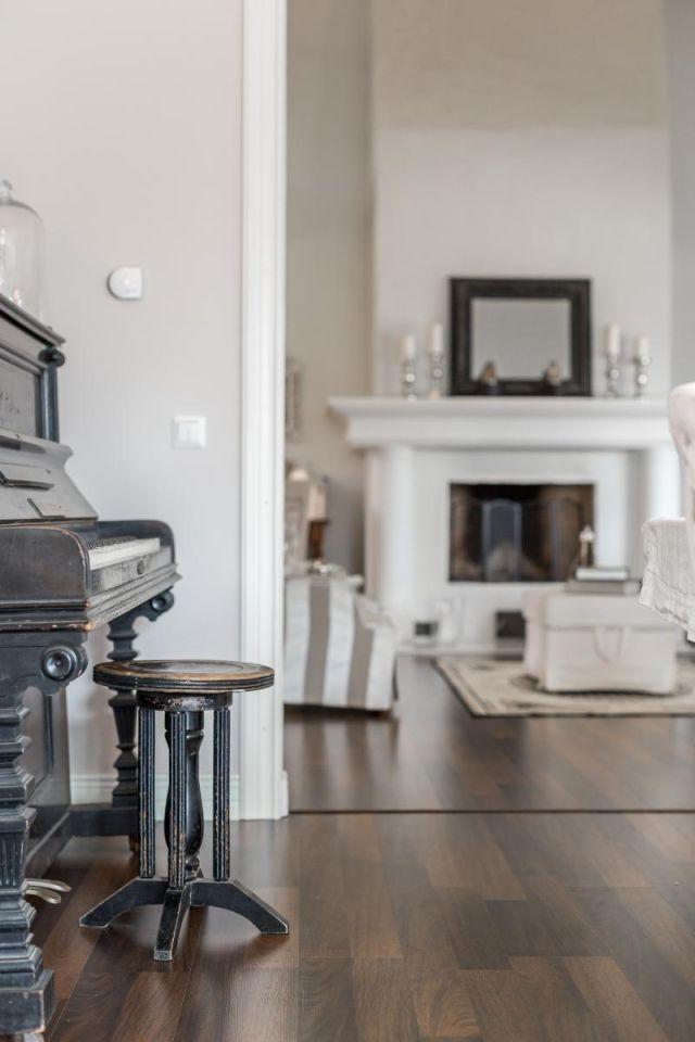 Pôvabný dom s kuchyňou v provensálskom štýle